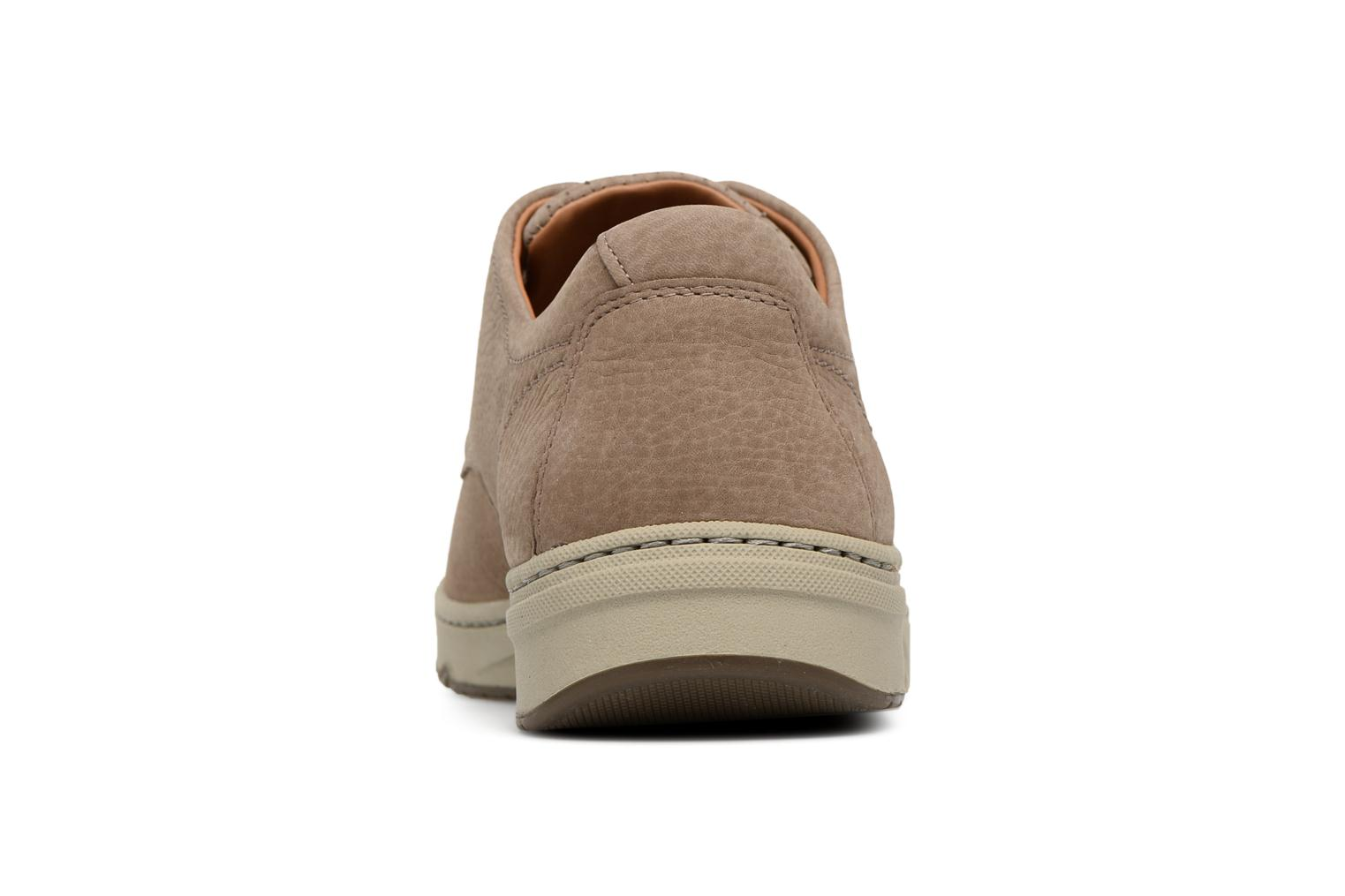 Lace-up shoes Mephisto Justin Beige view from the right