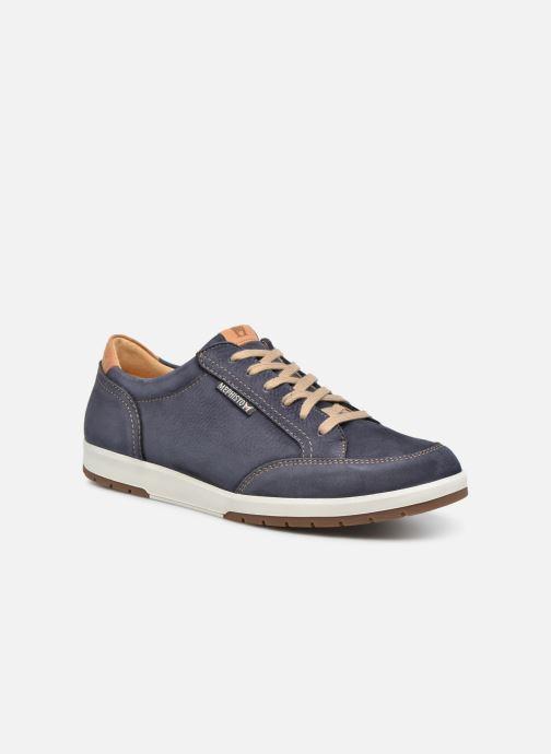 Sneakers Mephisto Ludo Blauw detail