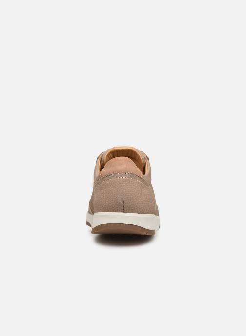 Sneakers Mephisto Ludo Beige Se fra højre