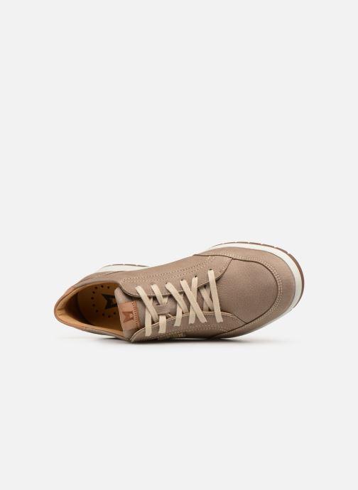 Sneakers Mephisto Ludo Beige se fra venstre