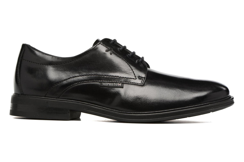 Chaussures à lacets Mephisto Nico Noir vue derrière