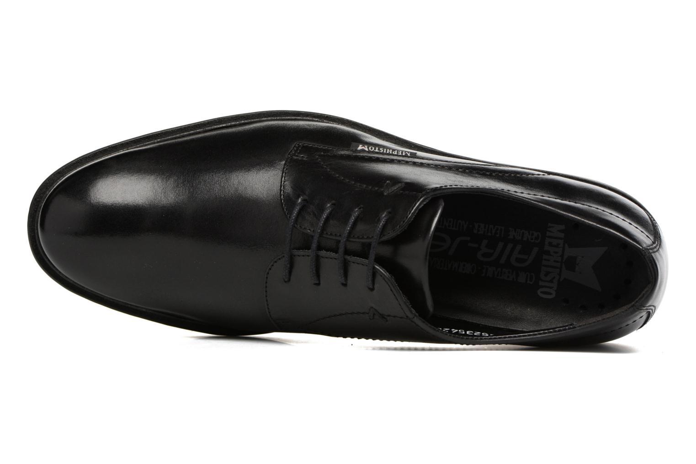 Chaussures à lacets Mephisto Nico Noir vue gauche