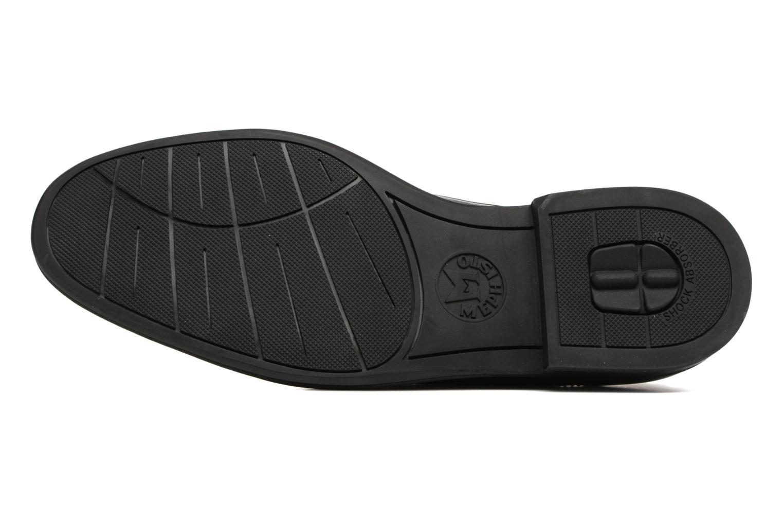 Chaussures à lacets Mephisto Nico Noir vue haut
