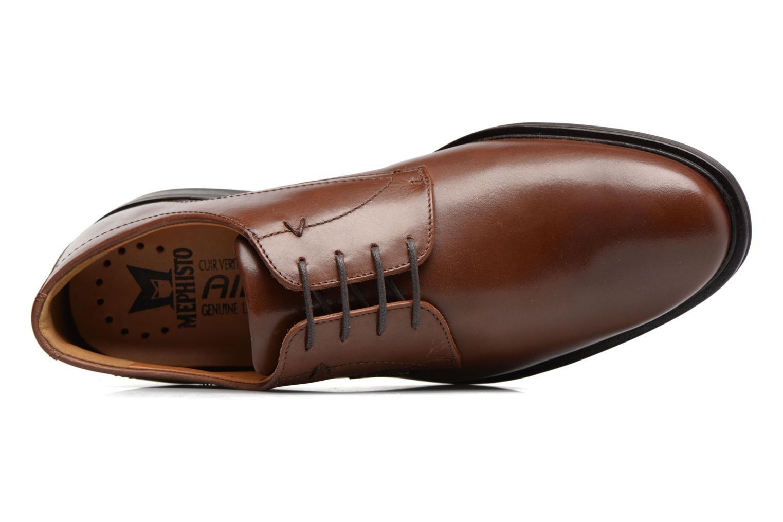 Chaussures à lacets Mephisto Nico Marron vue gauche