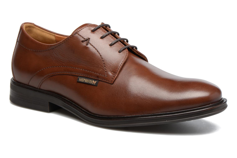 Chaussures à lacets Mephisto Nico Marron vue détail/paire