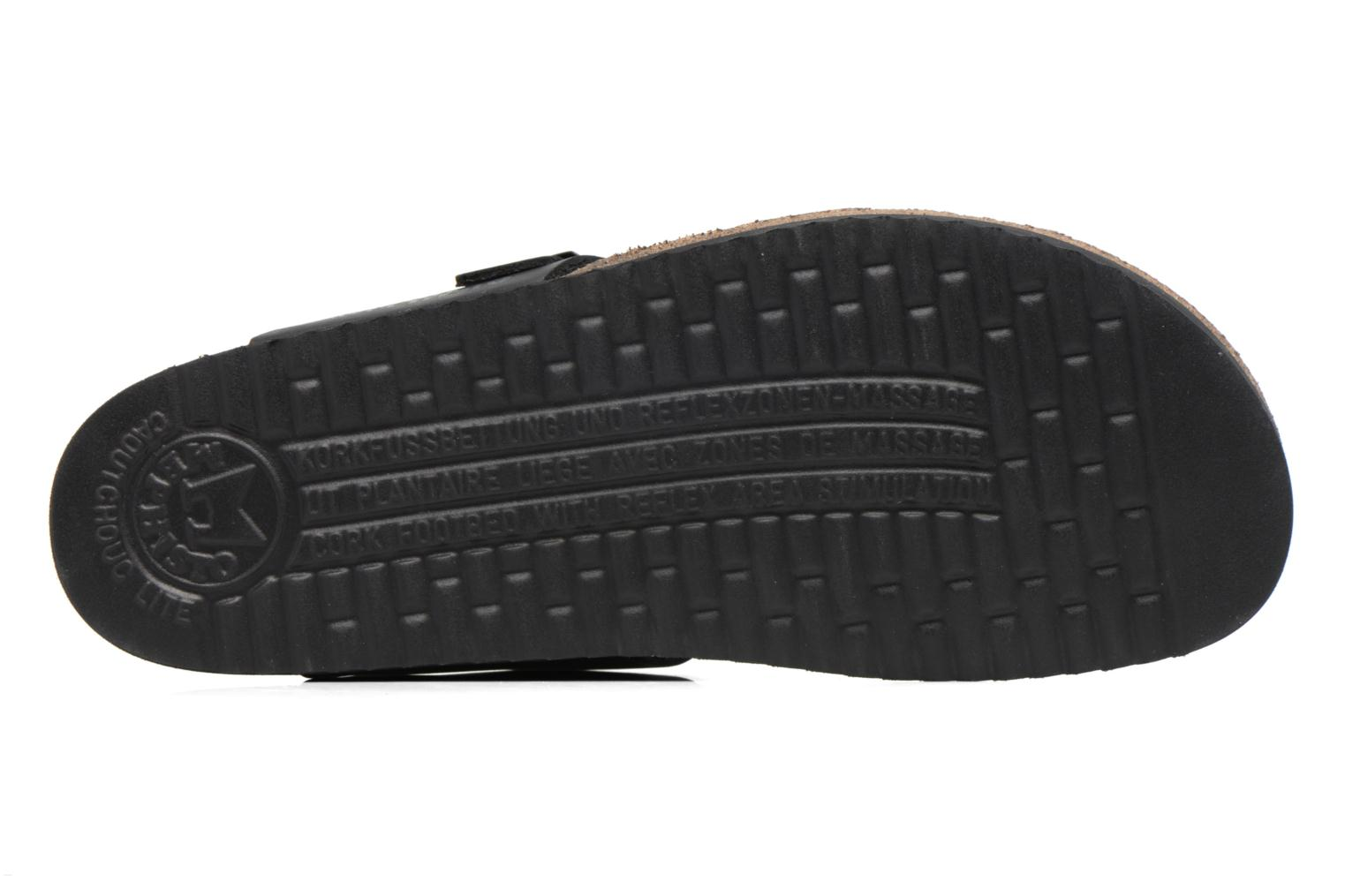 Flip flops Mephisto Niels Black view from above