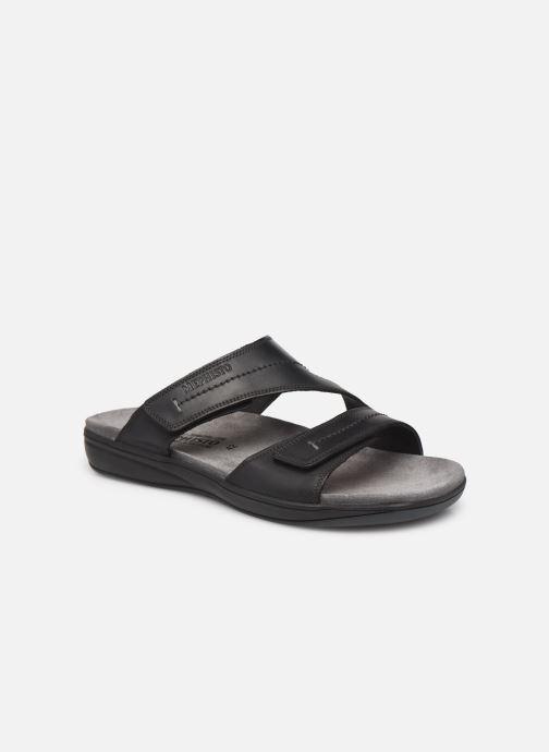 Sandales et nu-pieds Mephisto Stan Noir vue détail/paire