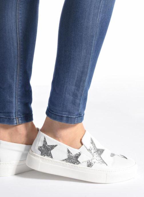 Sneakers Bronx Byardenx Bianco immagine dal basso
