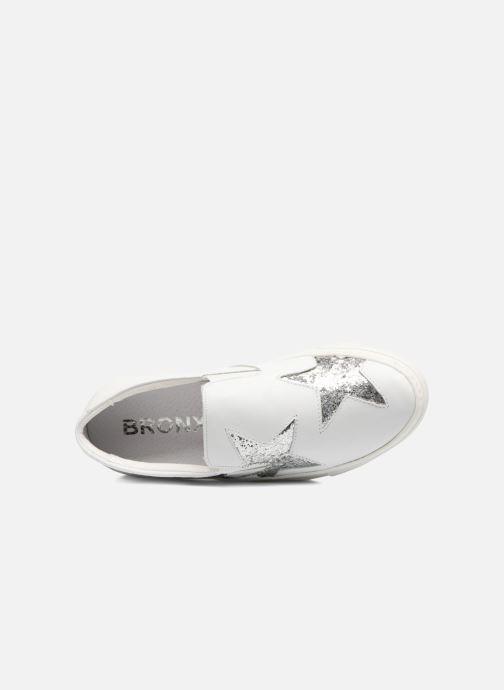 Baskets Bronx Byardenx Blanc vue gauche