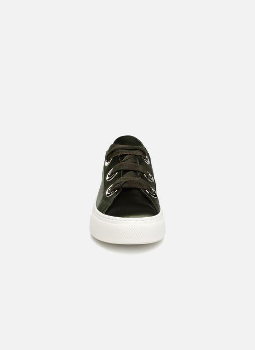 Baskets Bronx Byardenx Vert vue portées chaussures