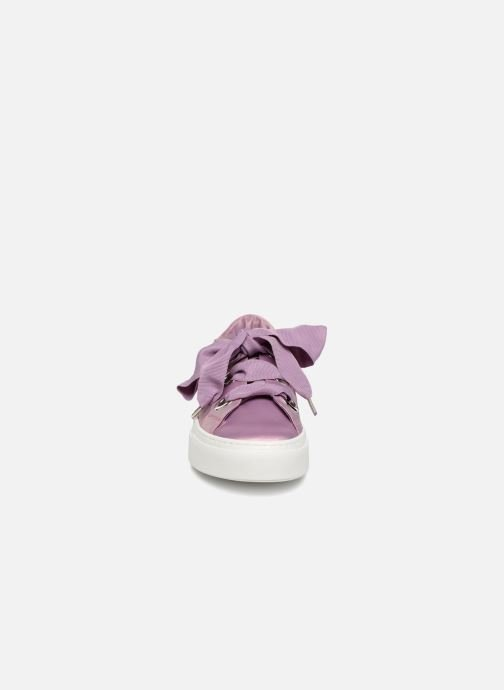 Baskets Bronx Byardenx Violet vue portées chaussures