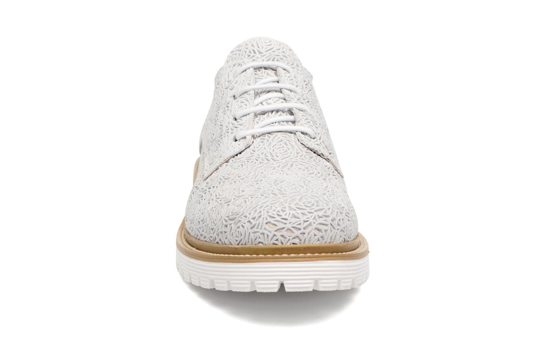 Zapatos con cordones Bronx Brifka-Chun Blanco vista del modelo