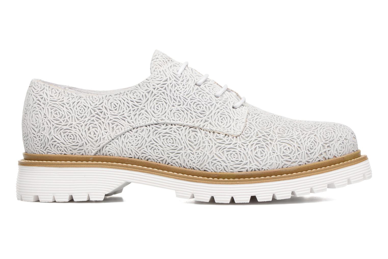 Zapatos con cordones Bronx Brifka-Chun Blanco vistra trasera