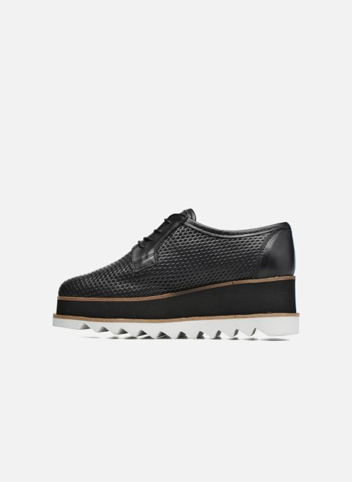 Lace-up shoes Bronx Bemmax Black front view