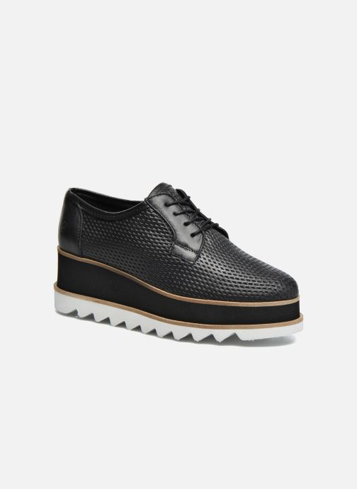 Lace-up shoes Bronx Bemmax Black detailed view/ Pair view