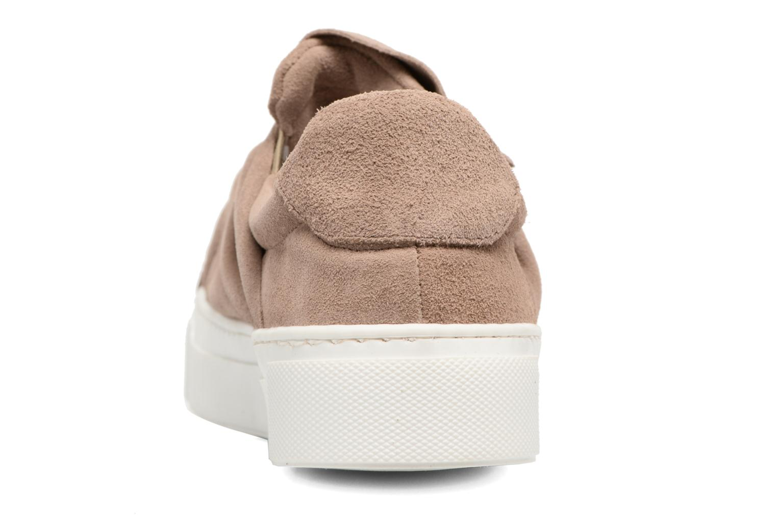 Trainers Bronx Byardenx 2 Beige view from the right