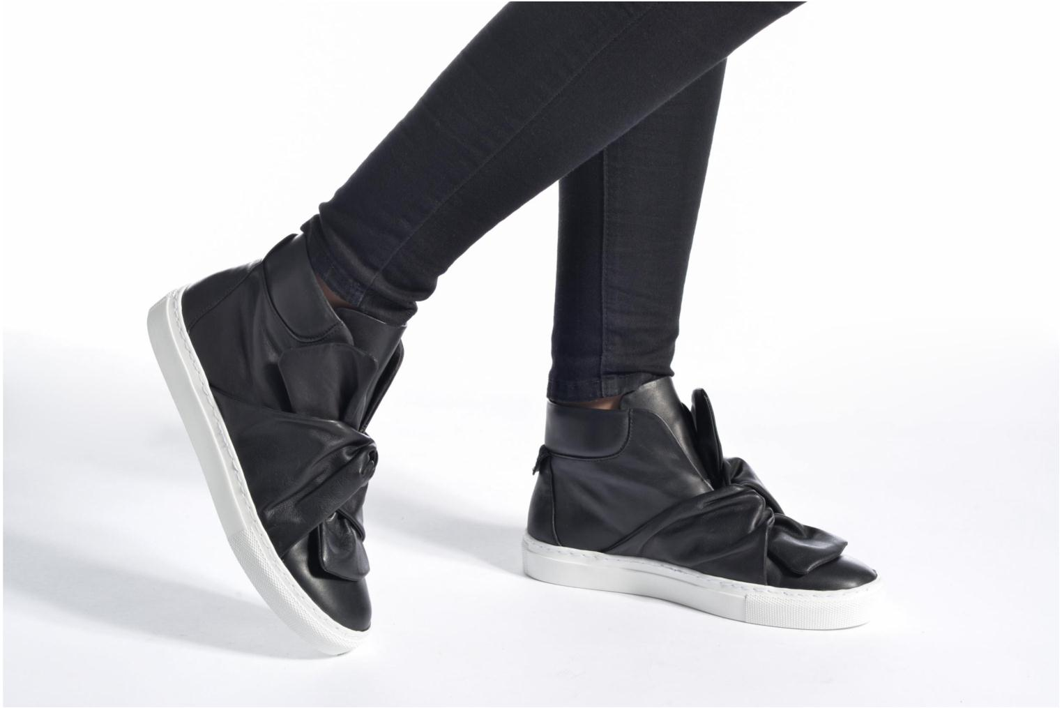 Trainers Bronx Byardenx 3 Black view from underneath / model view