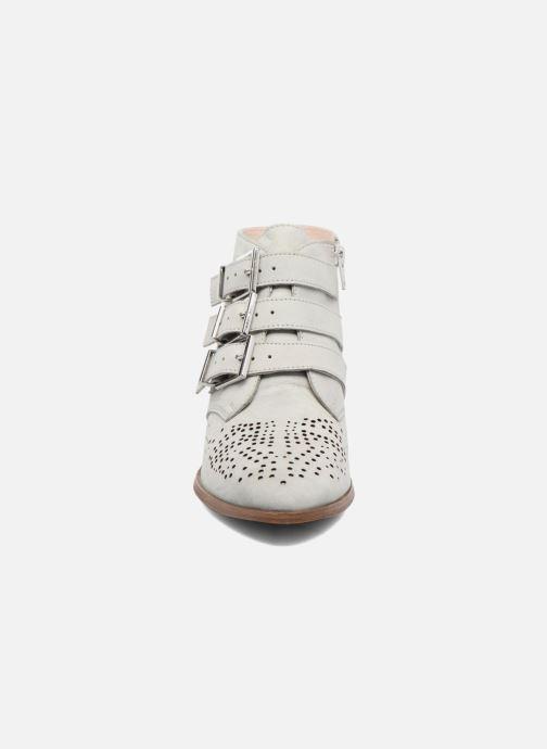Bottines et boots Bronx Brezax Gris vue portées chaussures
