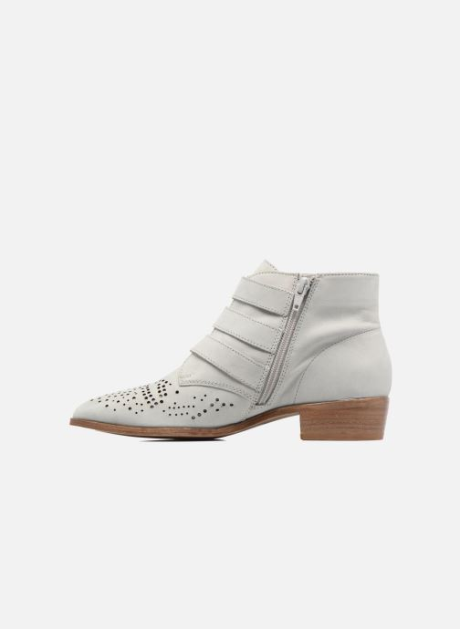 Ankle boots Bronx Brezax Grey front view