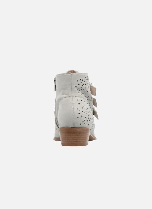 Ankle boots Bronx Brezax Grey view from the right