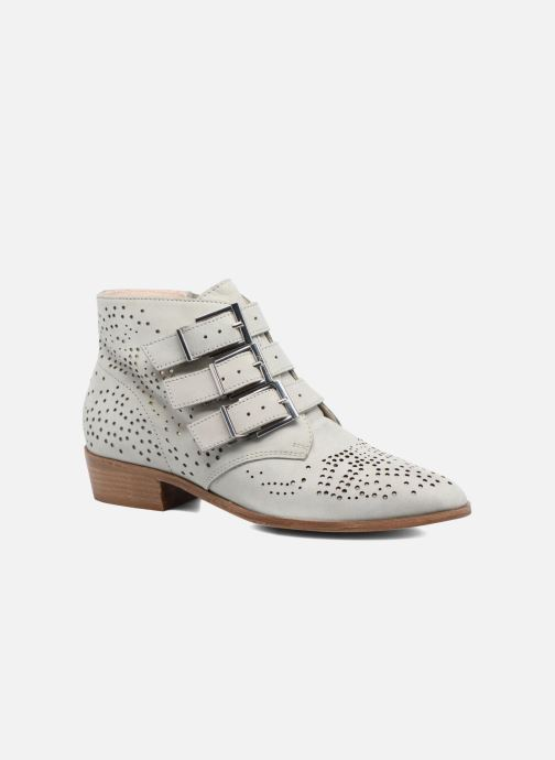 Ankle boots Bronx Brezax Grey detailed view/ Pair view
