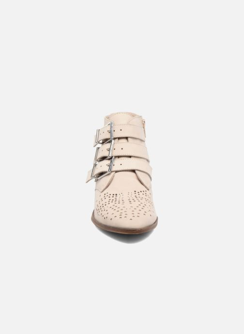 Ankle boots Bronx Brezax Beige model view