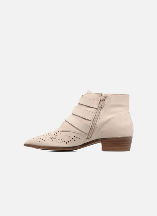 Ankle boots Bronx Brezax Beige front view