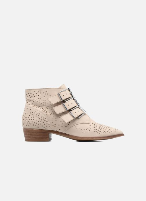 Ankle boots Bronx Brezax Beige back view