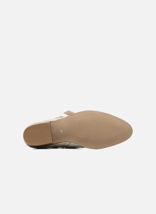 Ankle boots Bronx Brezax Beige view from above