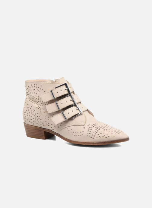 Ankle boots Bronx Brezax Beige detailed view/ Pair view