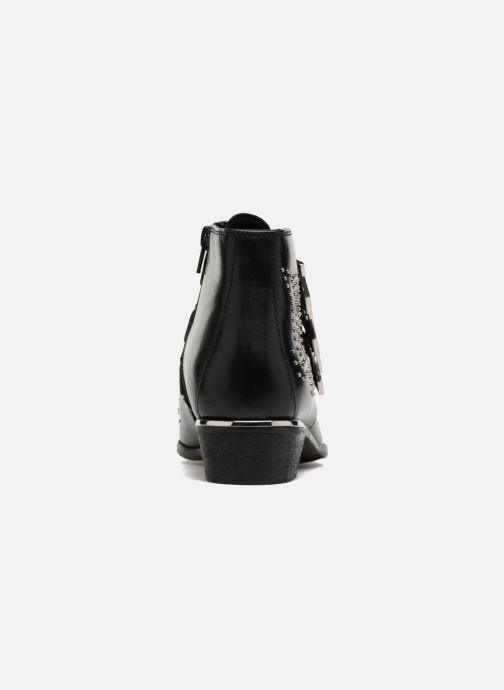 Bottines et boots Bronx Brezax Noir vue droite