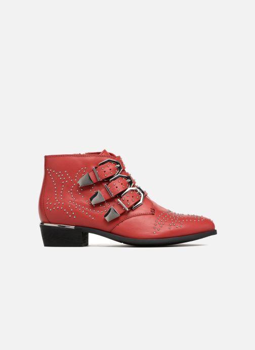 Bottines et boots Bronx Brezax Rouge vue derrière