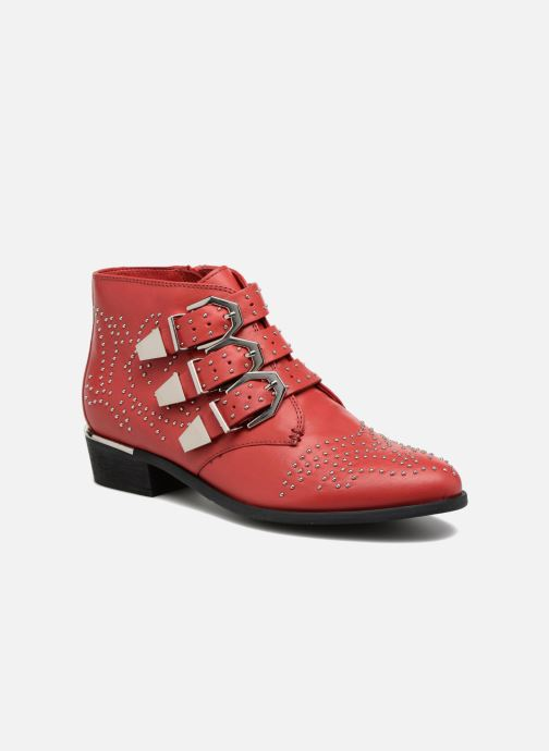 Ankle boots Bronx Brezax Red detailed view/ Pair view