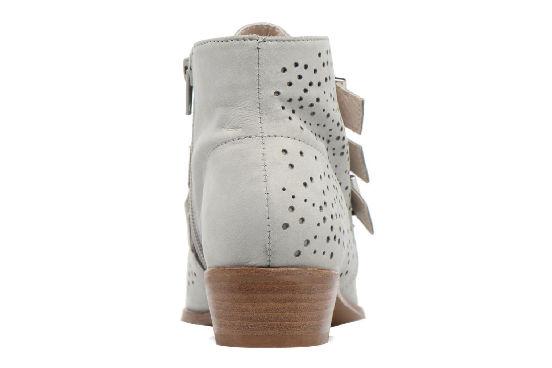 Bottines et boots Bronx Brezax Gris vue droite