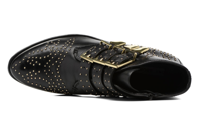 Bottines et boots Bronx Brezax Noir vue gauche