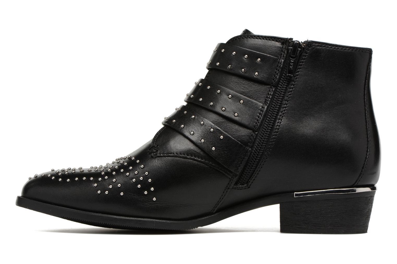 Bottines et boots Bronx Brezax Noir vue face