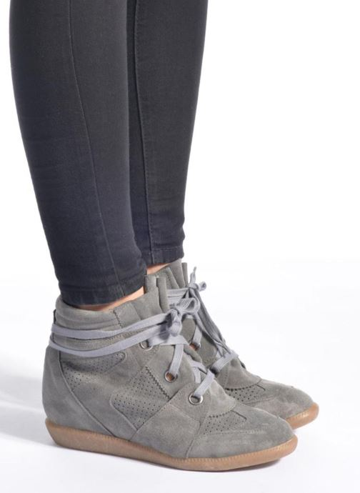 Trainers Bronx Braffx Grey view from underneath / model view