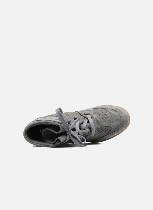 Sneakers Bronx Braffx Grijs links