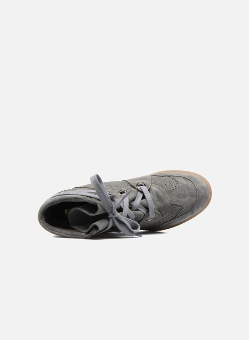 Trainers Bronx Braffx Grey view from the left