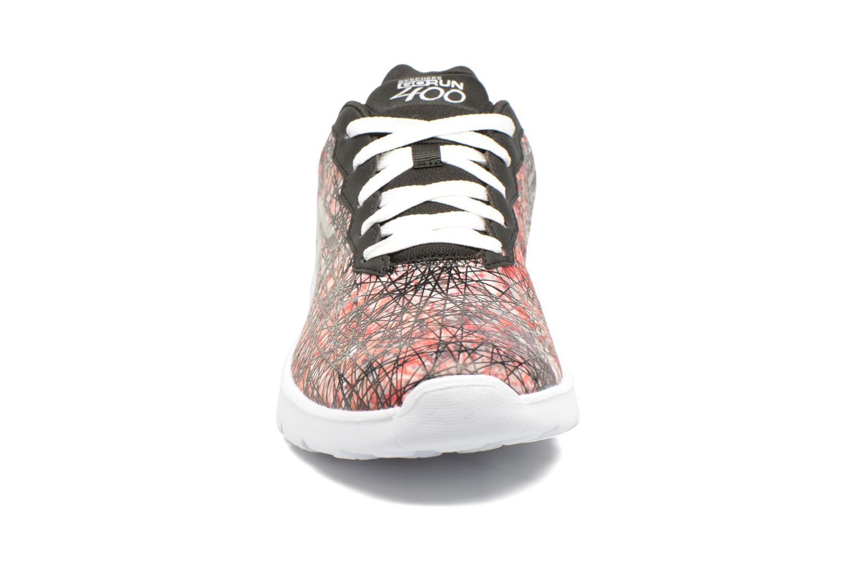 Chaussures de sport Skechers GO Run 400 Velocity Noir vue portées chaussures