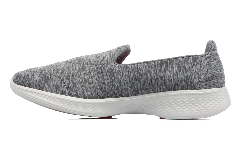 Chaussures de sport Skechers GO Walk 4 Achiever Gris vue face