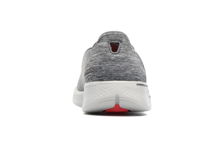 Chaussures de sport Skechers GO Walk 4 Achiever Gris vue droite