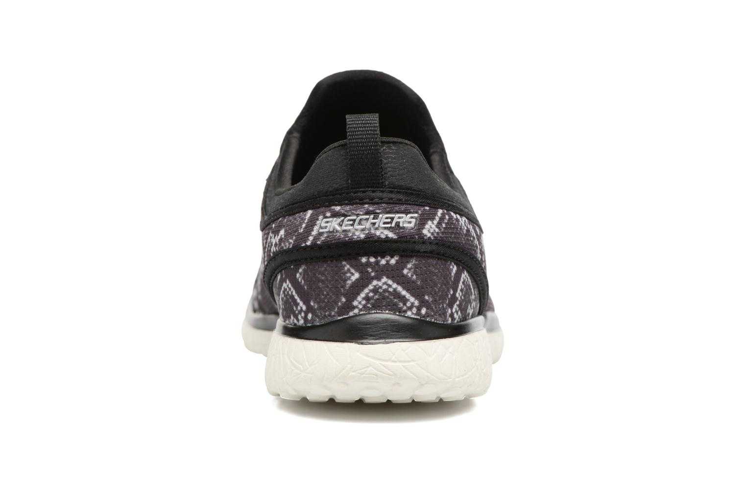 Trainers Skechers Microburst Mamba Black view from the right