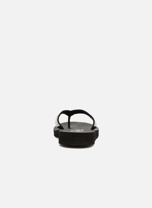 Zehensandalen Skechers Meditation Chill Vibes schwarz ansicht von rechts