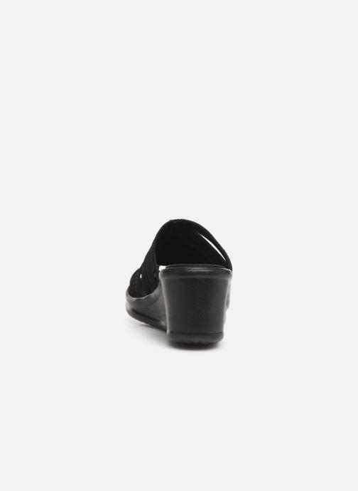 Wedges Skechers Rumblers Hotshot Zwart rechts
