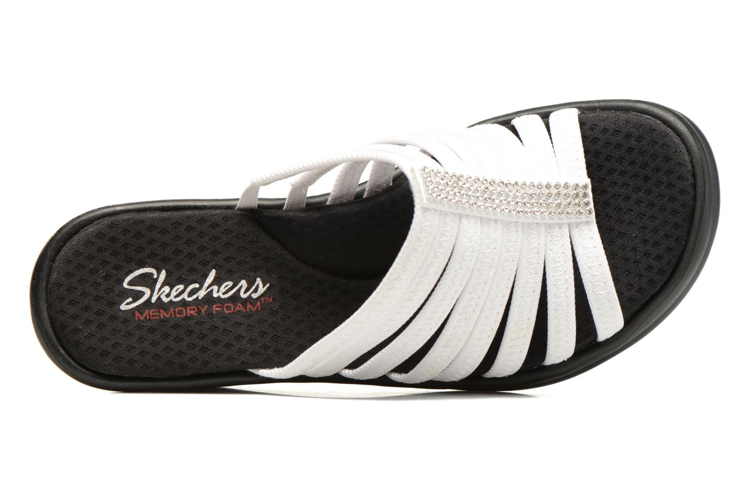 Mules & clogs Skechers Rumblers Hotshot White view from the left