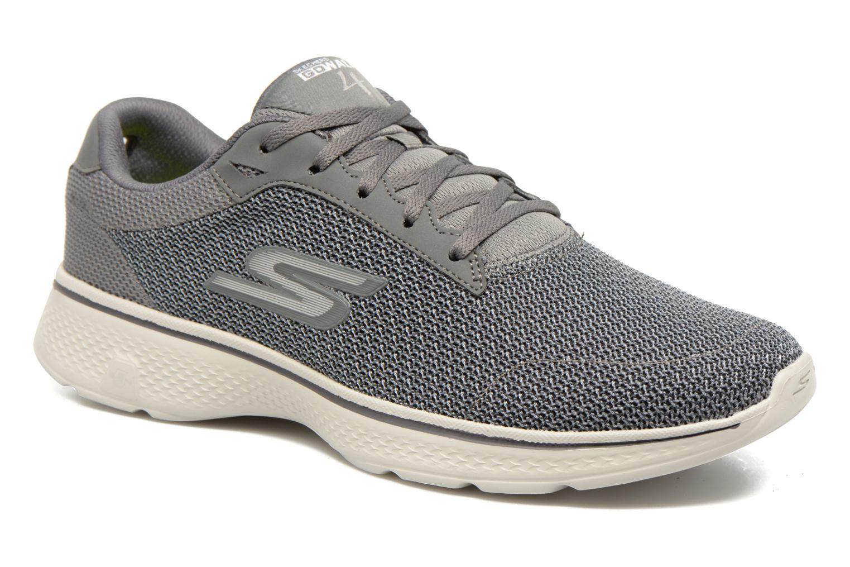 Sportschuhe Skechers Go Walk 4 H grau detaillierte ansicht/modell