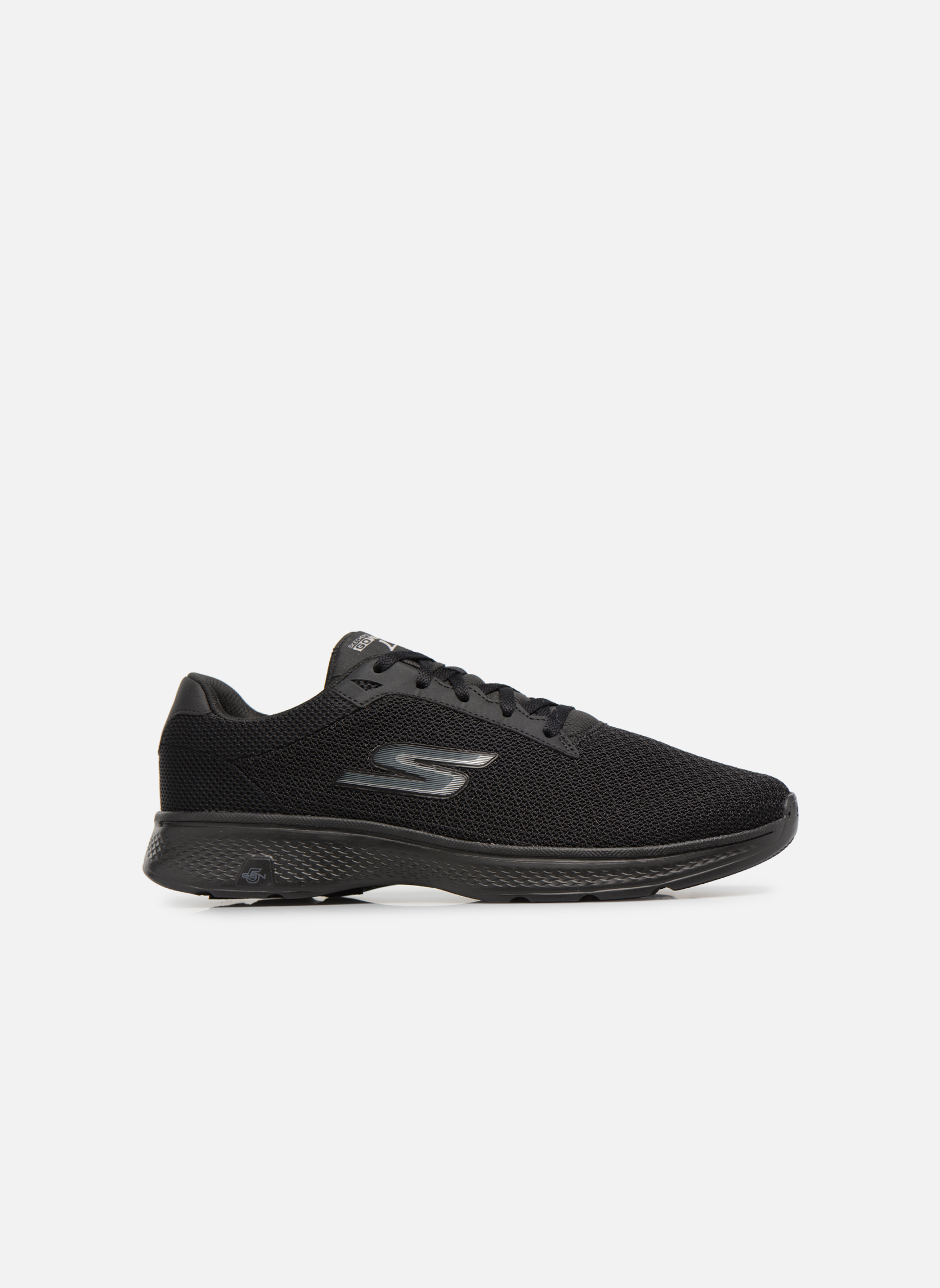 Sport shoes Skechers Go Walk 4 H Black back view