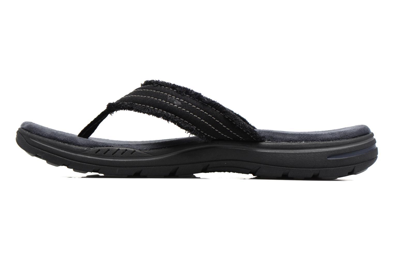 Flip flops Skechers Evented Arven Black front view