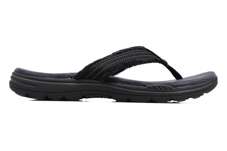 Flip flops Skechers Evented Arven Black back view